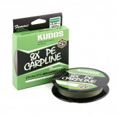 Шнур плетеный Kudos 8X Carpline PE 0,22mm 150m